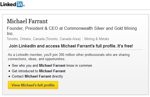 Michael Farrant Commonwealth Silver