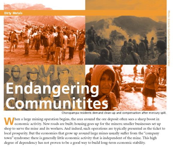 Dirty Metals Endangering Communitites